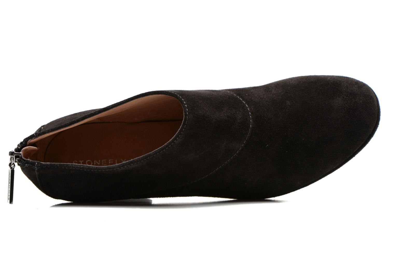 Bottines et boots Stonefly Greta 1 Noir vue gauche