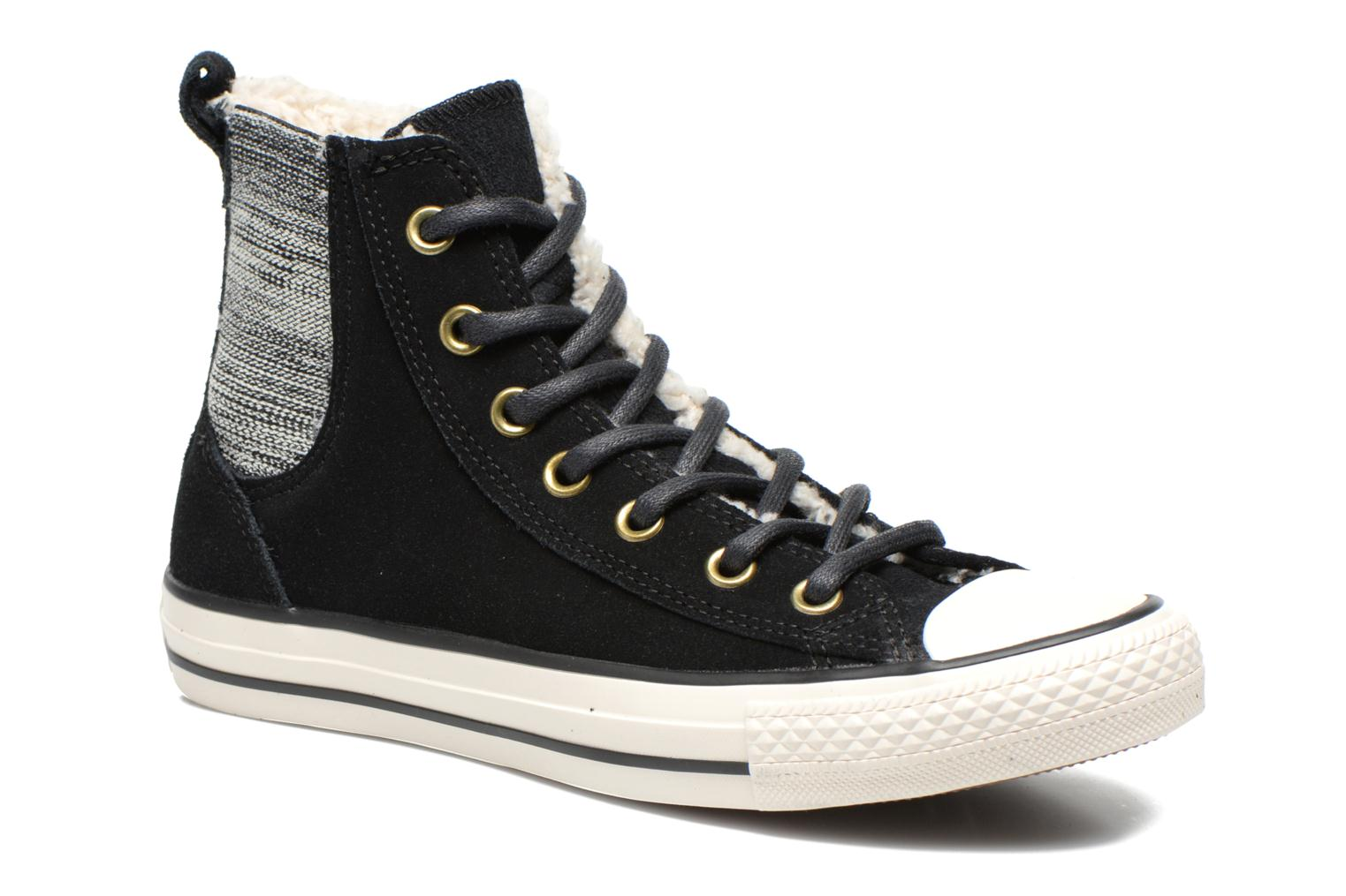 Converse Chuck Taylor Chelsee Shearling W Noir Af64m8