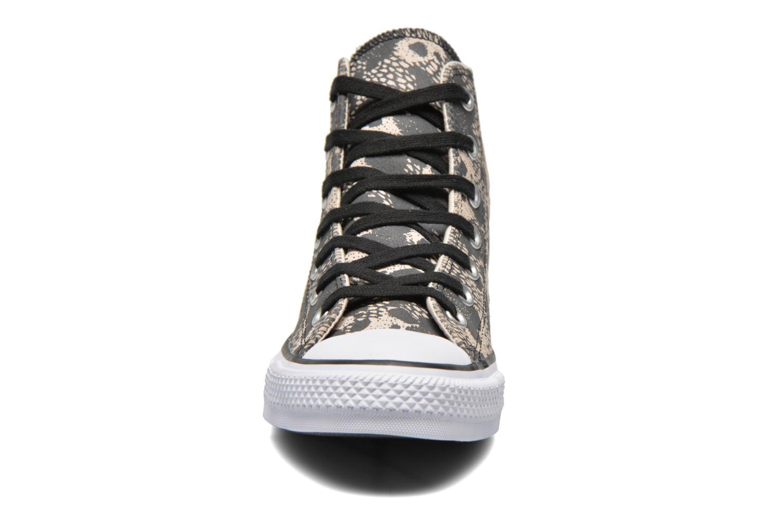 Baskets Converse Chuck Taylor All Star Animal Hi W Beige vue portées chaussures
