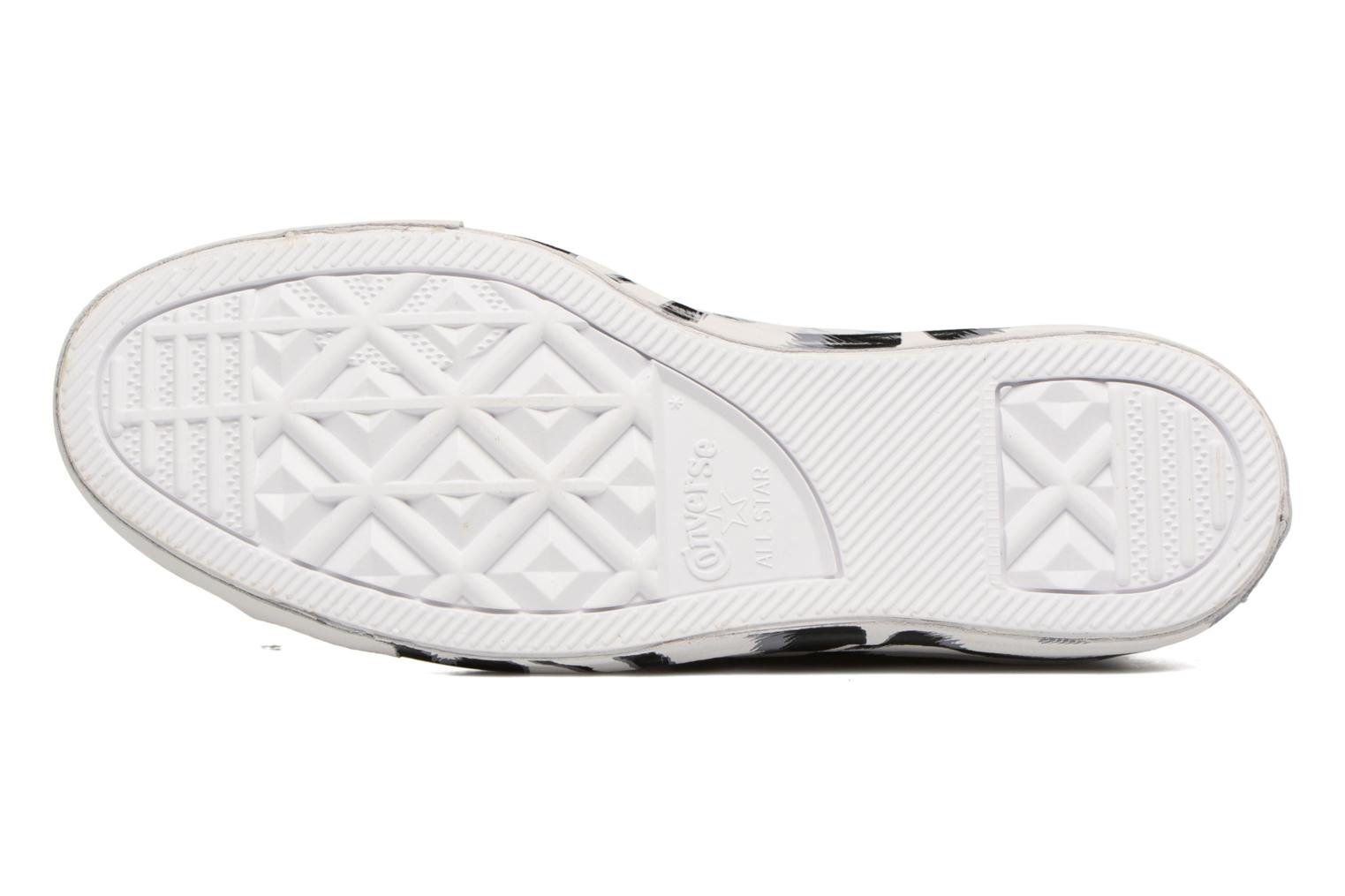 Trainers Converse Chuck Taylor All Star Shroud Hi W White view from above