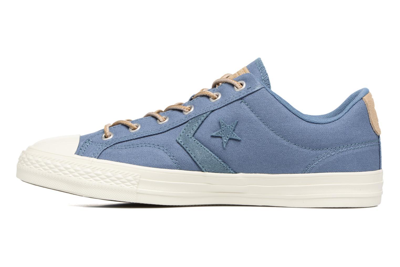 Baskets Converse Star Player Workwear Ox M Bleu vue face
