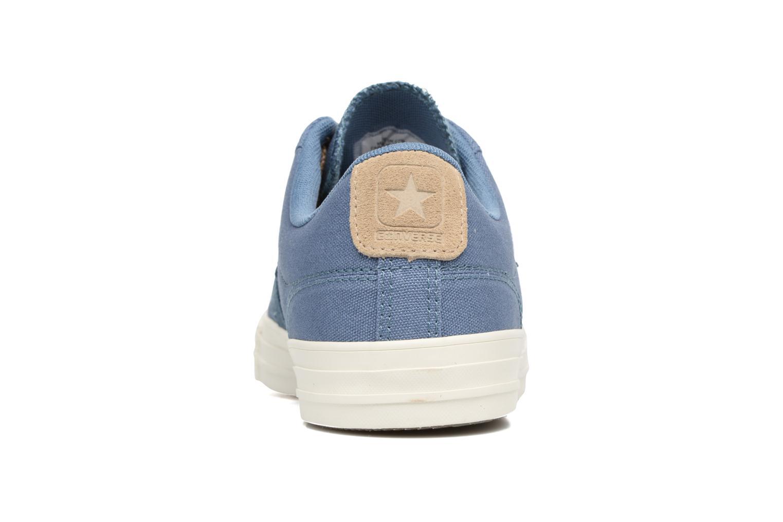 Baskets Converse Star Player Workwear Ox M Bleu vue droite