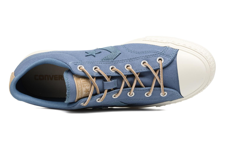 Sneaker Converse Star Player Workwear Ox M blau ansicht von links
