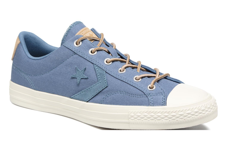Baskets Converse Star Player Workwear Ox M Bleu vue détail/paire