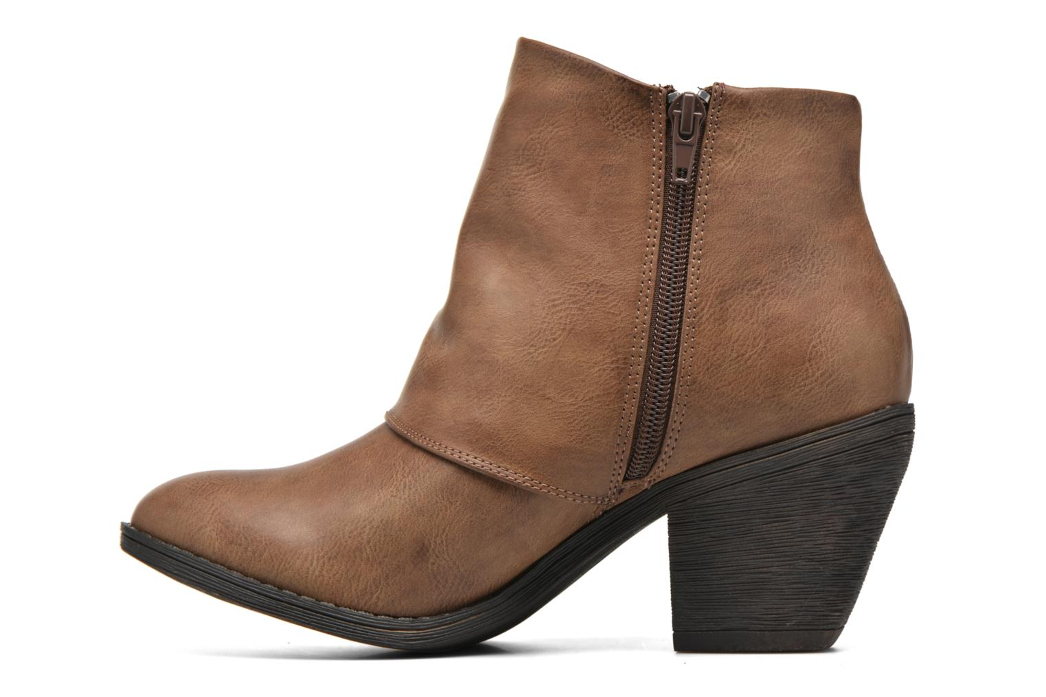 Ankle boots Blowfish Suba Brown front view