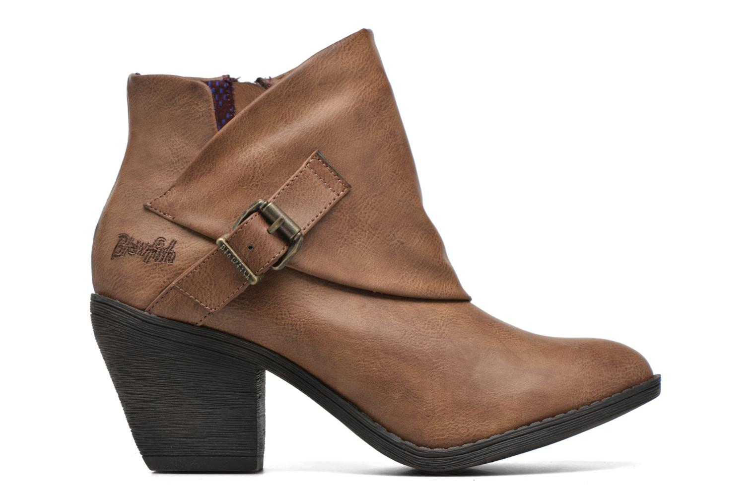 Ankle boots Blowfish Suba Brown back view