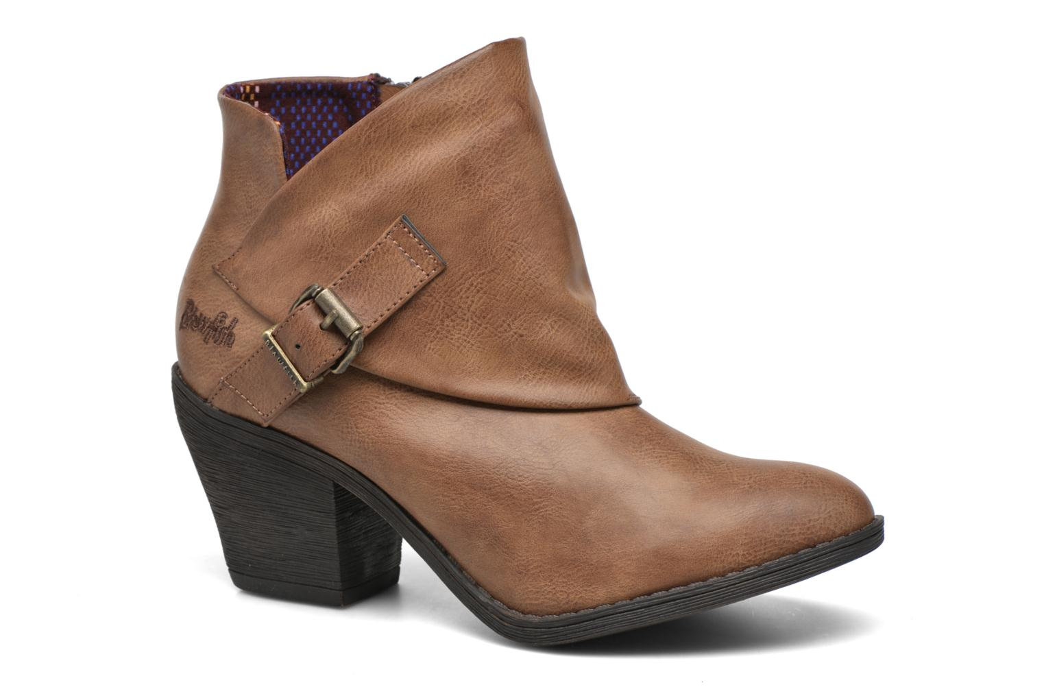 Ankle boots Blowfish Suba Brown detailed view/ Pair view