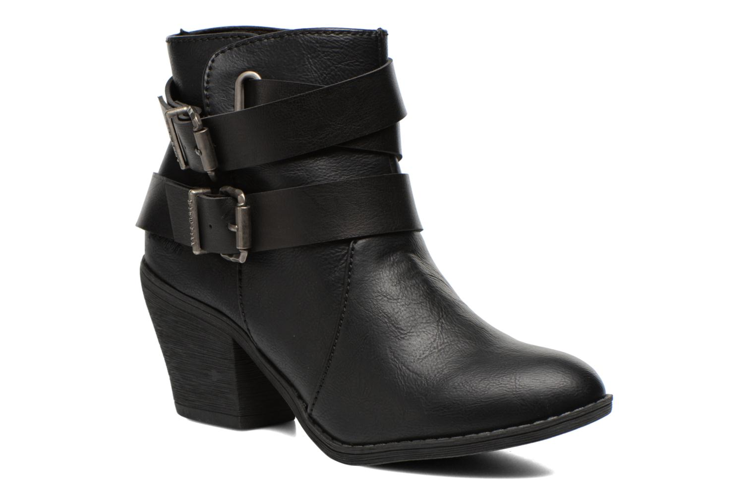 Ankle boots Blowfish Sworn Black detailed view/ Pair view