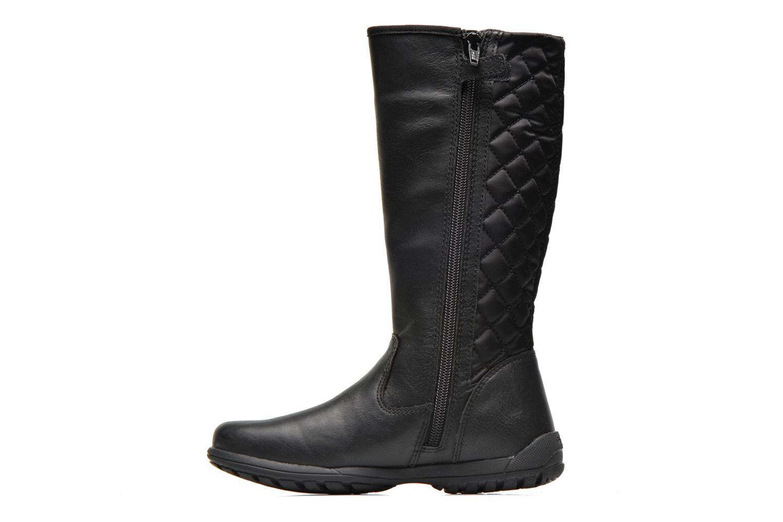 Bottines et boots Geox J Crissy C Noir vue face