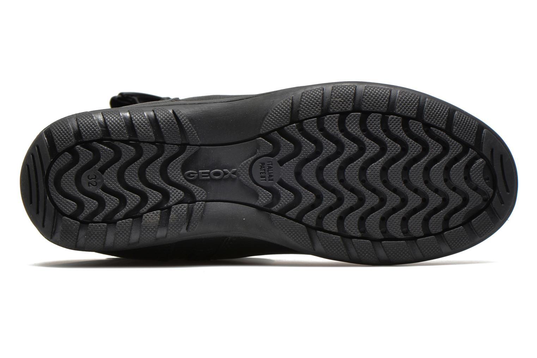 Bottines et boots Geox J Crissy C Noir vue haut