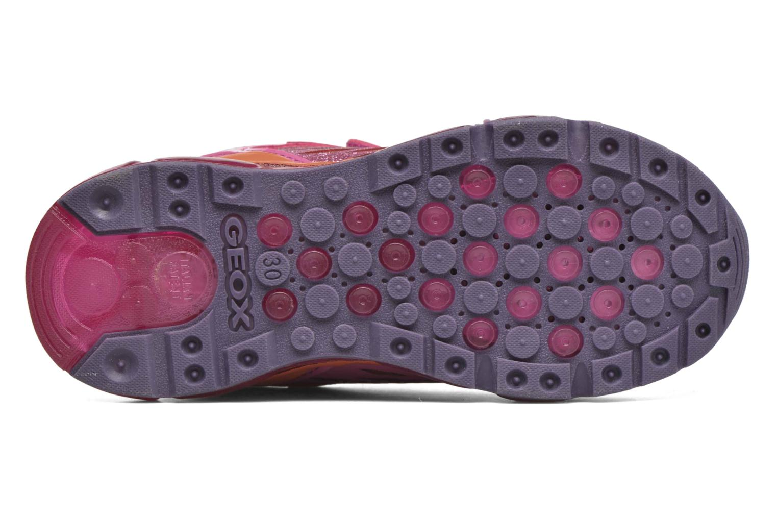 Baskets Geox J Android G Rose vue haut