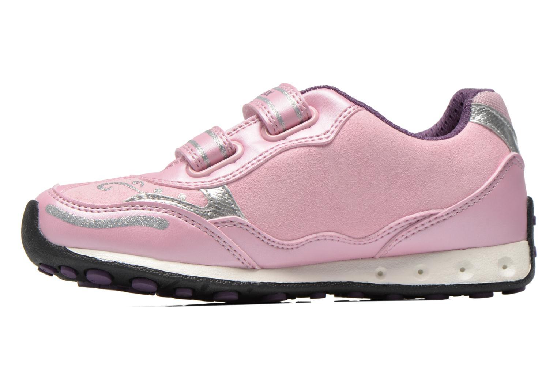Sneaker Geox J N.Jocker rosa ansicht von vorne