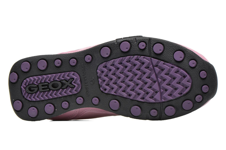 Sneaker Geox J N.Jocker rosa ansicht von oben