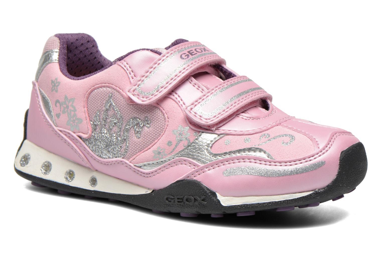 Sneaker Geox J N.Jocker rosa detaillierte ansicht/modell