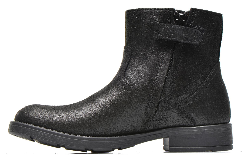 Bottines et boots Geox J Sofia A J54D3A Noir vue face