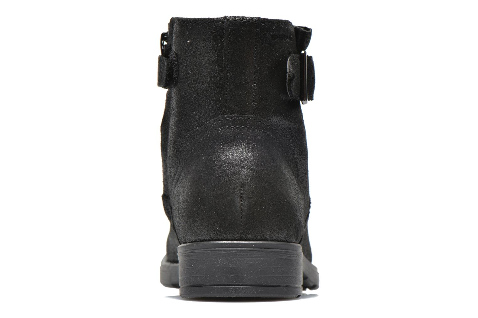 Ankle boots Geox J Sofia A J54D3A Black view from the right