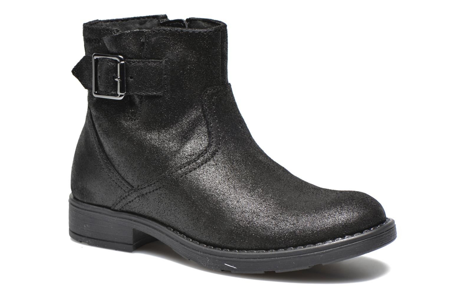 Ankle boots Geox J Sofia A J54D3A Black detailed view/ Pair view