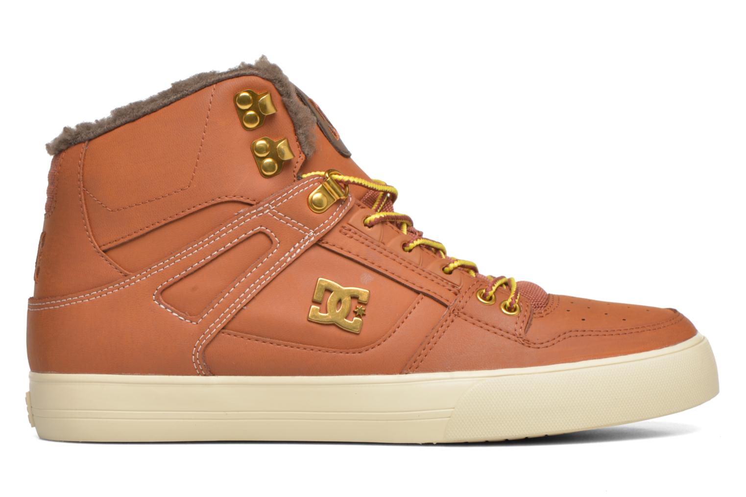 Sneakers DC Shoes Spartan High WC Bruin achterkant