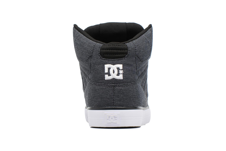 Sneakers DC Shoes Spartan High WC Zwart rechts