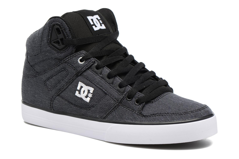 Sneakers DC Shoes Spartan High WC Zwart detail