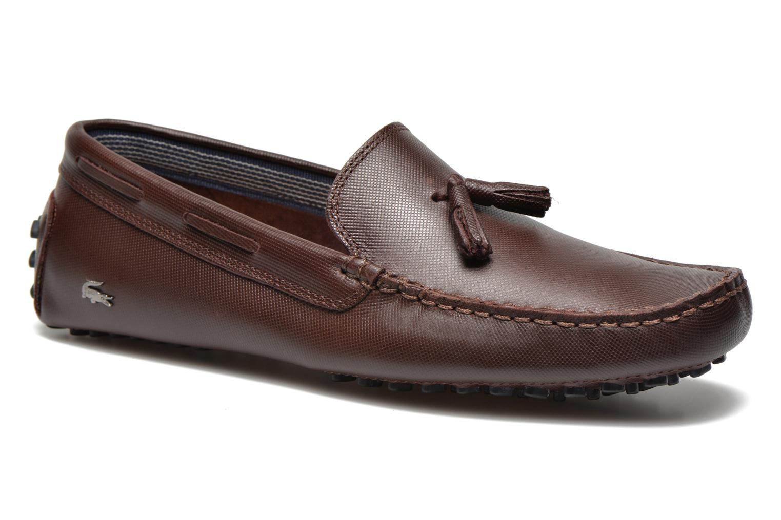 Loafers Lacoste Concours Tassle 8 Brown detailed view/ Pair view