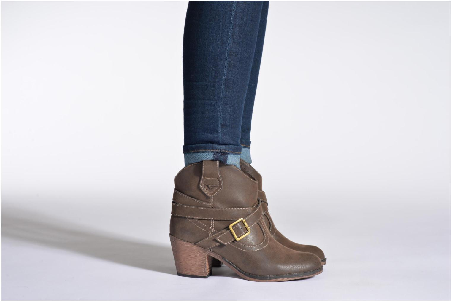 Ankle boots Rocket Dog Sandpiper Brown view from underneath / model view