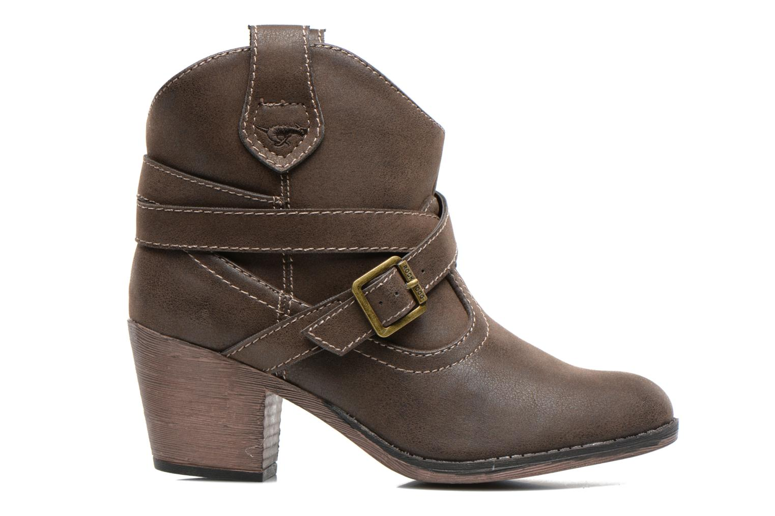 Ankle boots Rocket Dog Sandpiper Brown back view