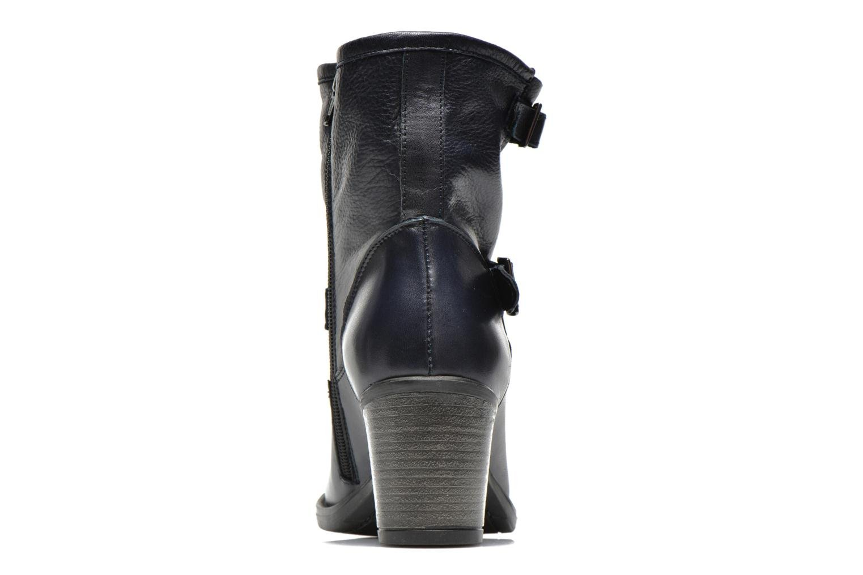 Bottines et boots Georgia Rose Magic Bleu vue droite