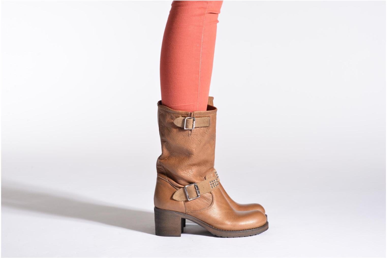 Stiefeletten & Boots Georgia Rose Martine schwarz ansicht von unten / tasche getragen