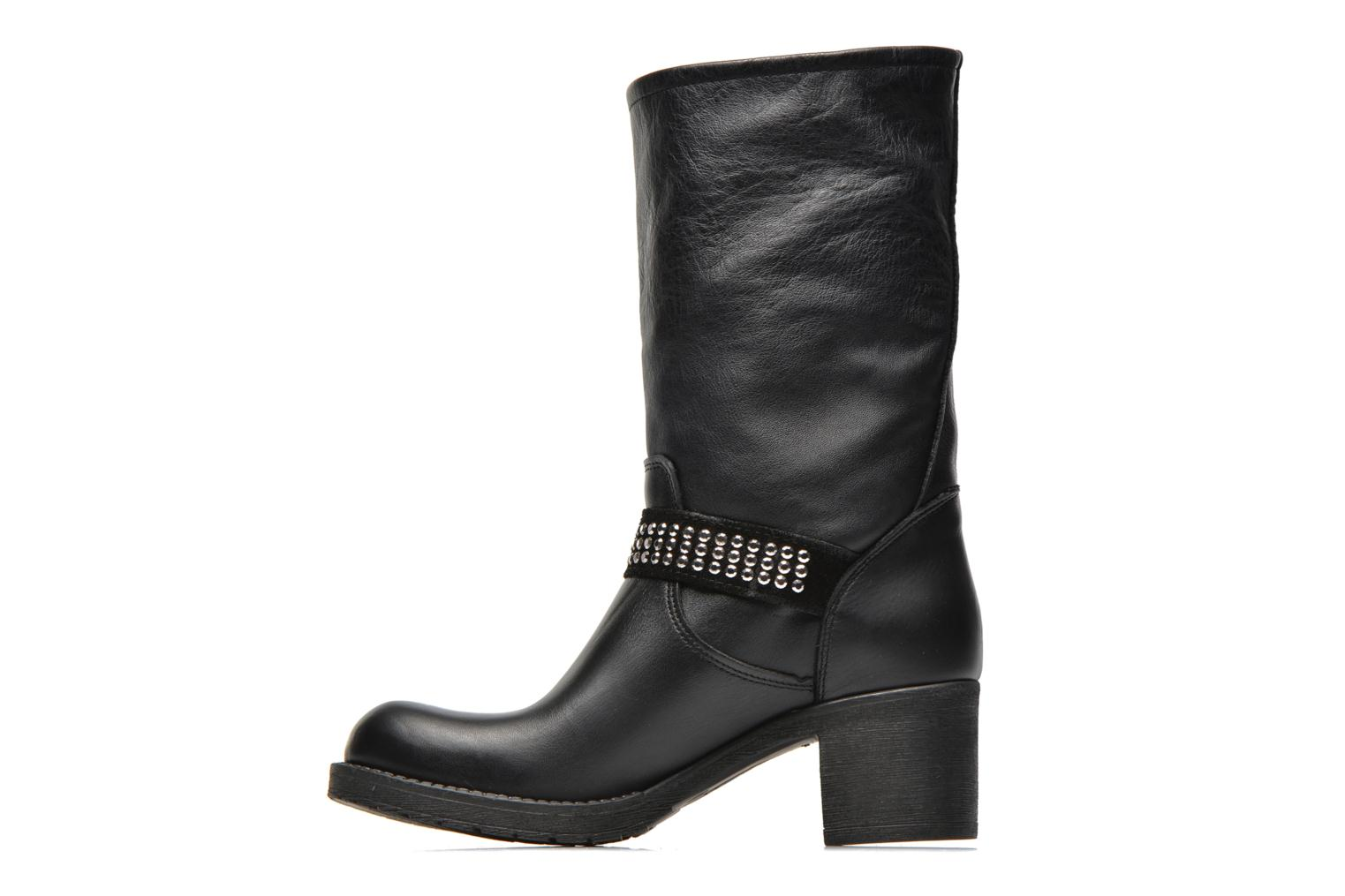 Ankle boots Georgia Rose Martine Black front view