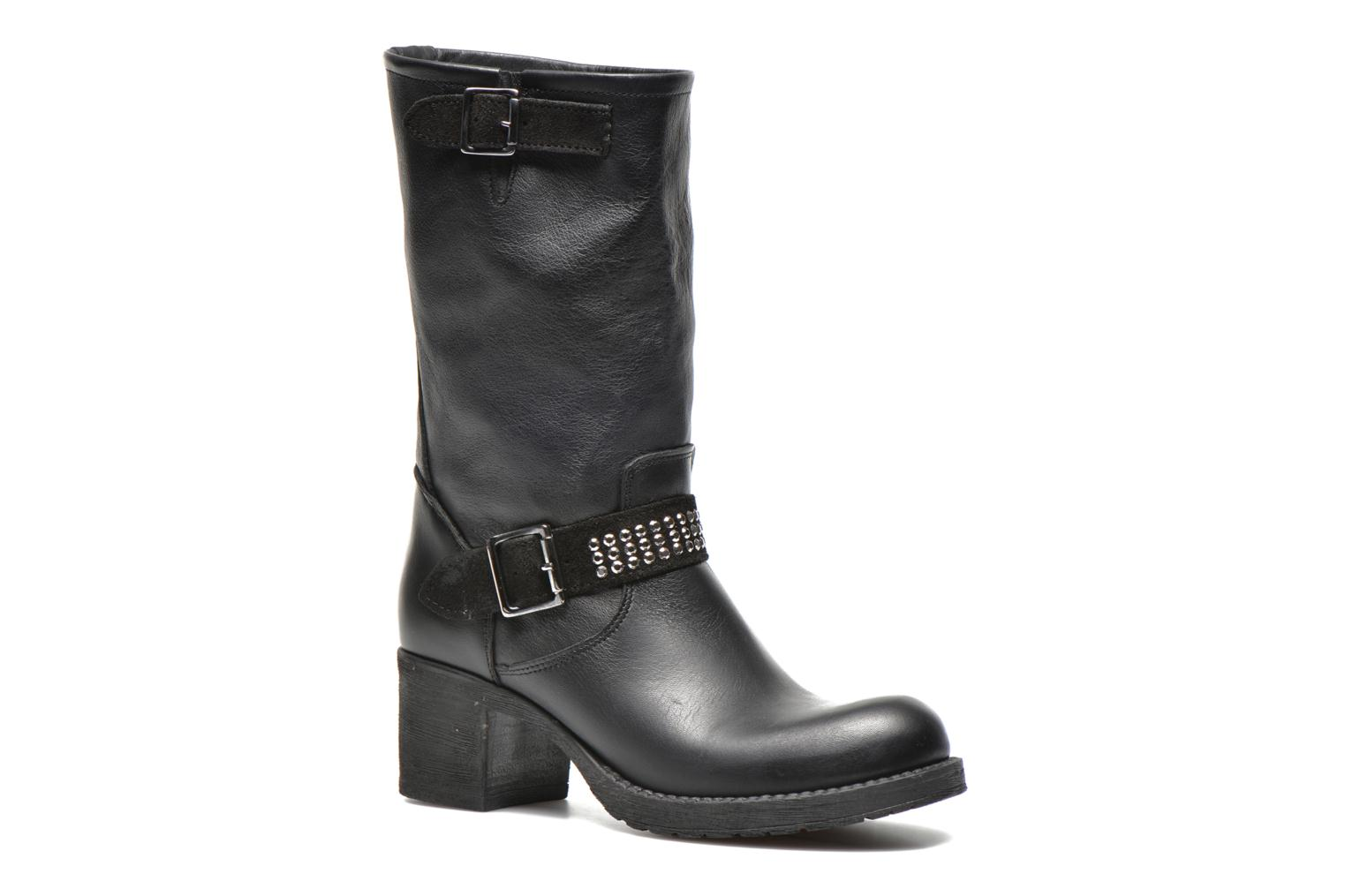 Ankle boots Georgia Rose Martine Black detailed view/ Pair view