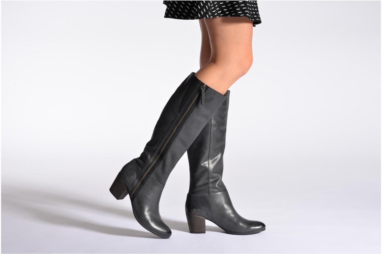 Stiefel Geox D LUCINDA D D5470D schwarz ansicht von unten / tasche getragen