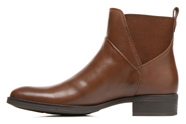 Stiefeletten & Boots Geox D MENDI ST D D5490D braun ansicht von vorne