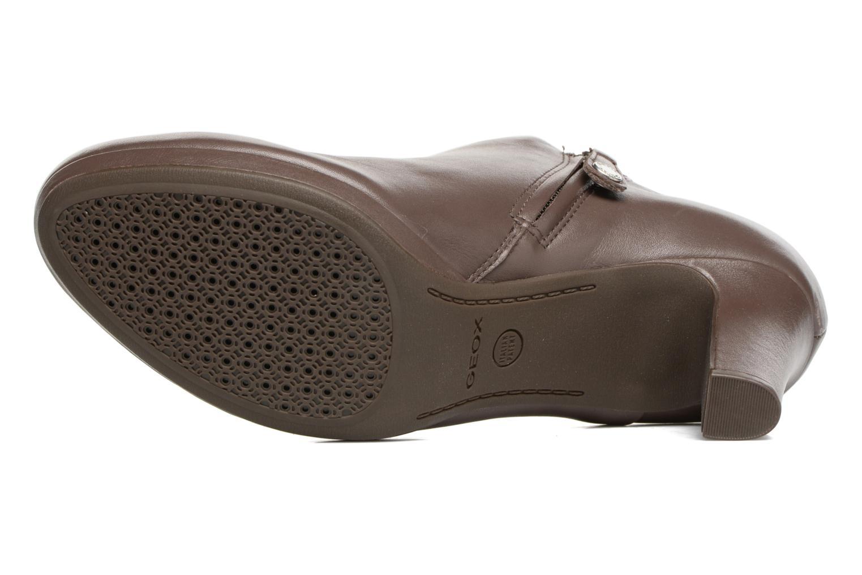 Bottines et boots Geox D LANA B D54Q6B Marron vue haut