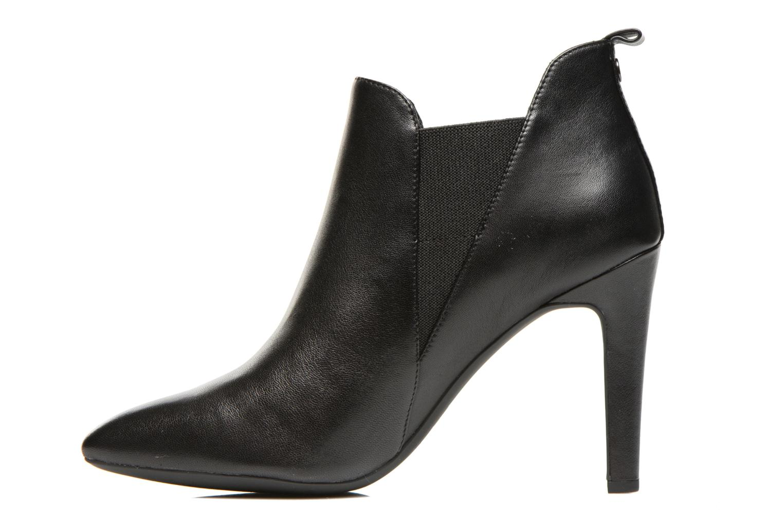 Bottines et boots Geox D CAROLINE B D54W1B Noir vue face