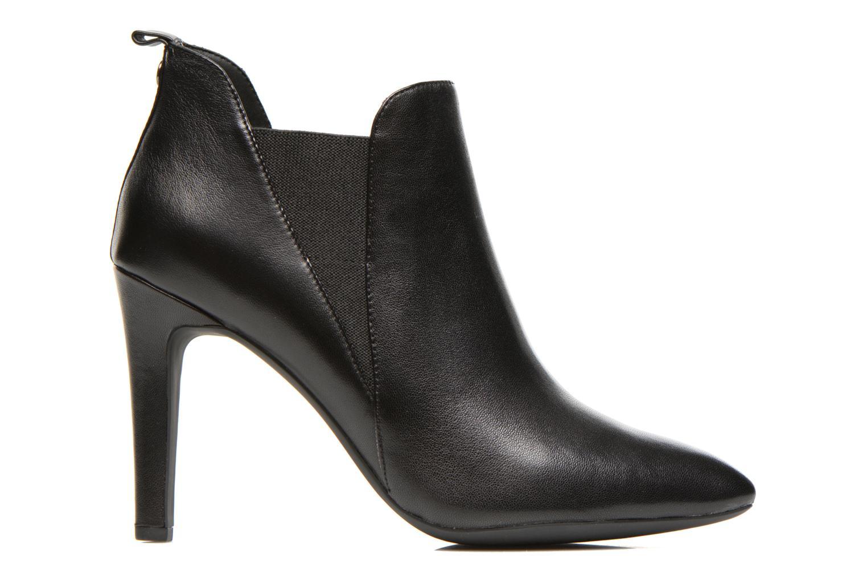 Bottines et boots Geox D CAROLINE B D54W1B Noir vue derrière