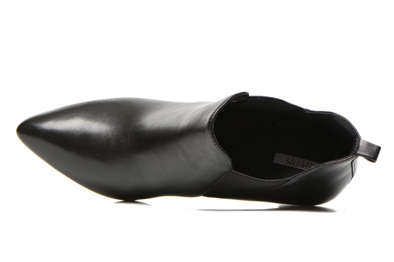 Bottines et boots Geox D CAROLINE B D54W1B Noir vue gauche