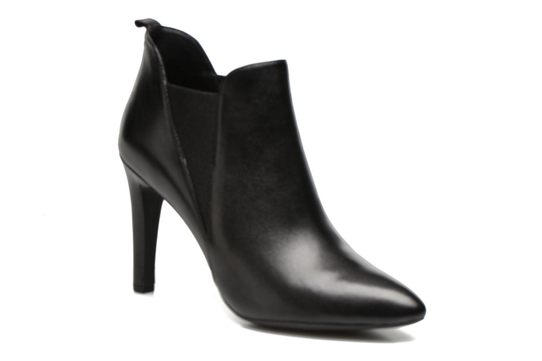 Bottines et boots Geox D CAROLINE B D54W1B Noir vue détail/paire