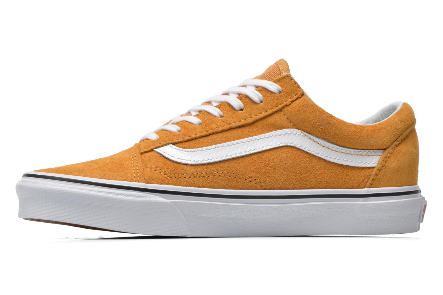 Baskets Vans Old Skool E Jaune vue face