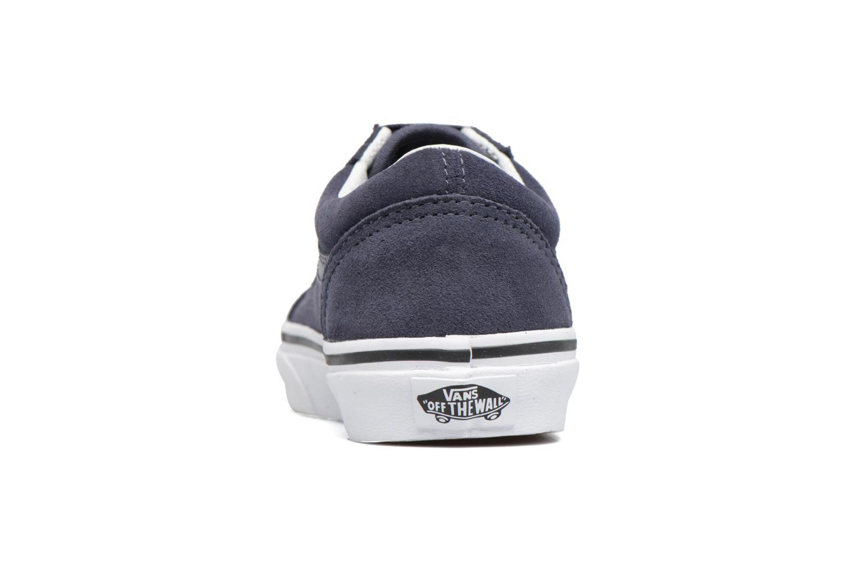 Sneakers Vans Old Skool E Geel rechts
