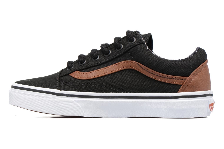 Sneakers Vans Old Skool E Zwart voorkant