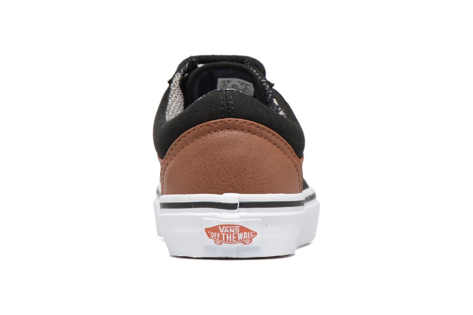 Trainers Vans Old Skool E Black view from the right