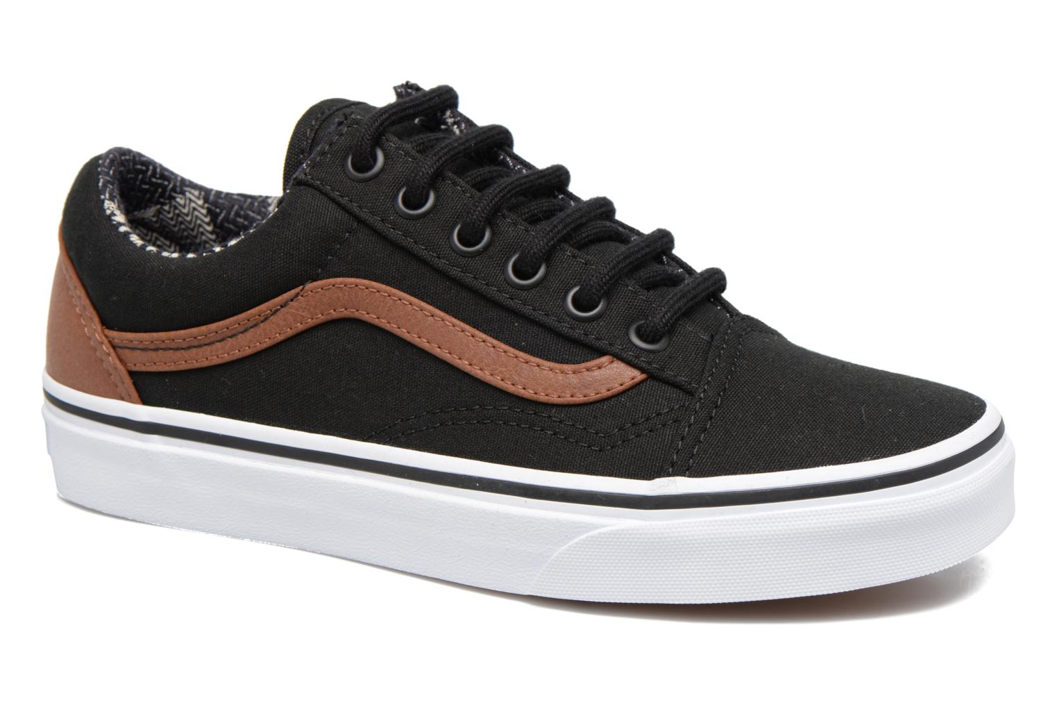 Sneakers Vans Old Skool E Zwart detail