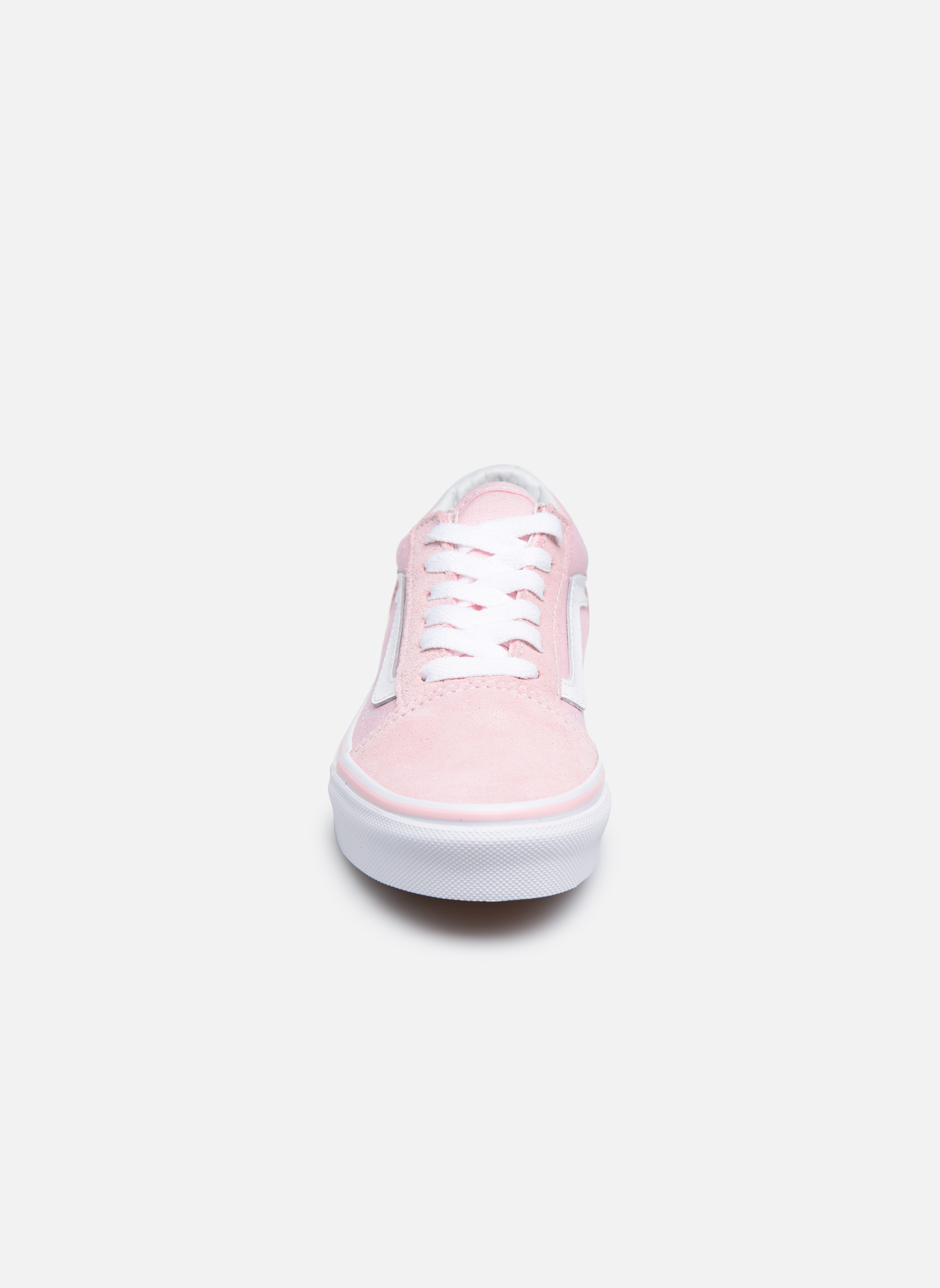 Baskets Vans Old Skool E Rose vue portées chaussures