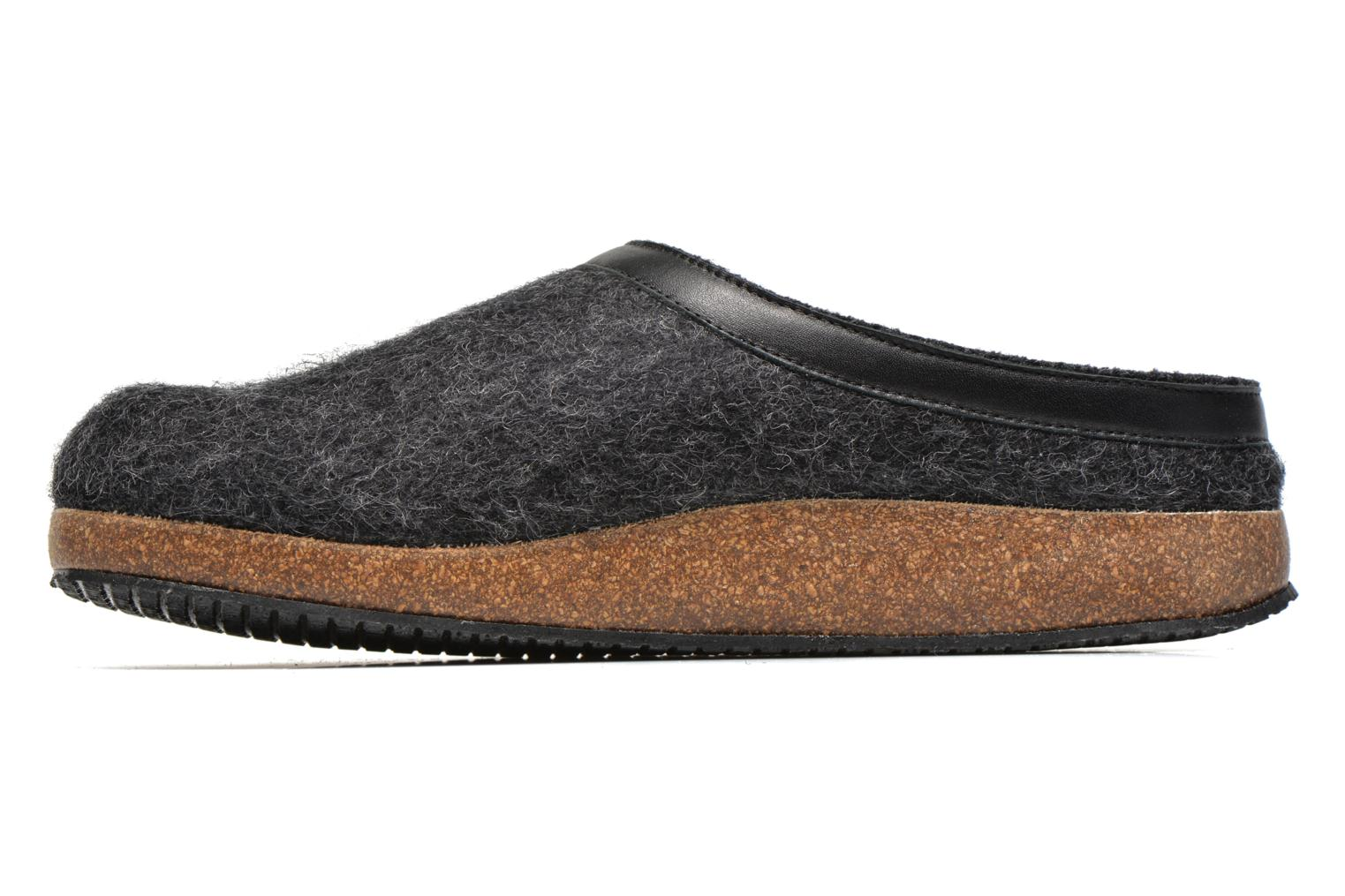 Slippers Giesswein CHIEM Grey front view