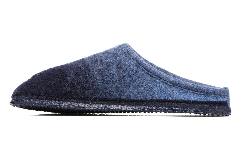 Pantuflas Giesswein Notzen Azul vista de frente