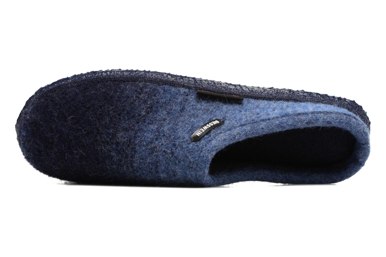 Chaussons Giesswein Notzen Bleu vue gauche