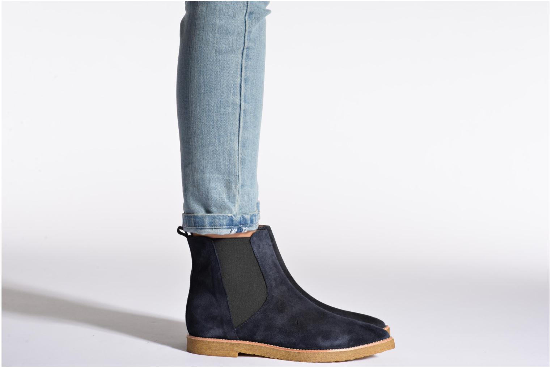 Bottines et boots Fabio Rusconi Maeva Bleu vue bas / vue portée sac