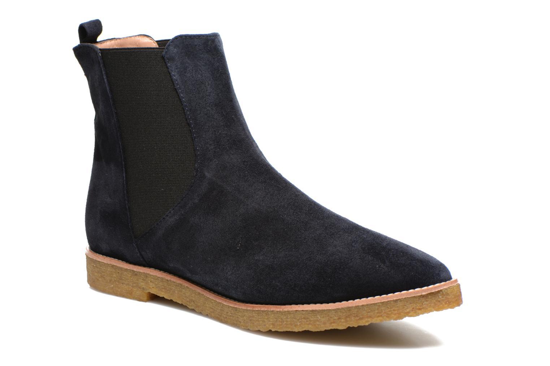 Boots en enkellaarsjes Fabio Rusconi Maeva Blauw detail