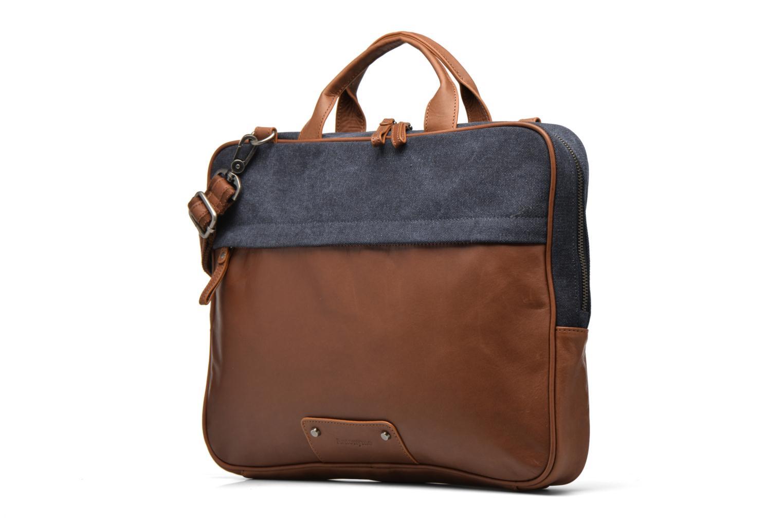 Men's bags Antonyme by Nat & Nin Emile Blue model view
